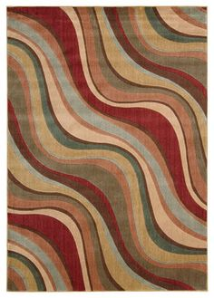 "Nourison Somerset ST81 5'6"" x 7'5"" Multicolor Area Rug 00487 traditional-area-rugs"