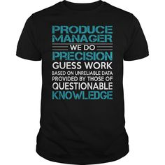 Awesome Tee For Produce Manager T-Shirts, Hoodies. CHECK PRICE ==► Funny Tee Shirts