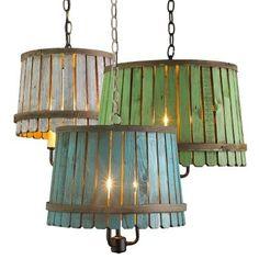 Bushel Basket Lantern in blue, green or white wash! Description from pinterest.com. I searched for this on bing.com/images