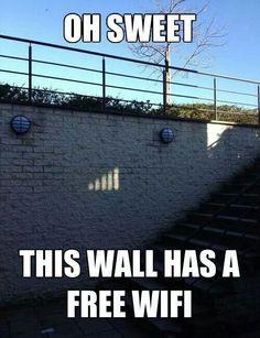 Free WiFi #funny