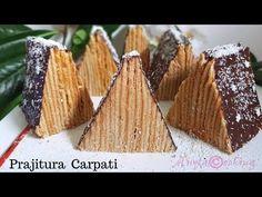 Romanian Desserts, Romanian Food, Food Truck Desserts, Holiday Desserts, International Recipes, Cabana, Fine Dining, Cupcake Cakes, Cupcakes