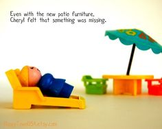 This etsy shop has the cutest Fisher Price little people prints - great for a playroom!