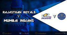 RR vs MI 2015 IPL poster
