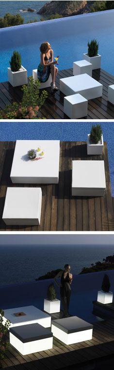 Uber-chic patio furniture | urbilis.com