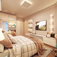 Suíte do casal | Bedroom | Decor | Lighting design |  Projeto: Luany Campista