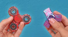 Here is a list of the best fidget spinners, with tricks & bearings. have a look!