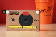 ikea is making a cardboard digital camera!?!?