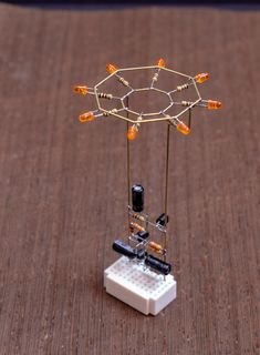 Octagon LED Flower - Mohit Bhoite - Electronics - Achteck Bhoite Flower Elektronik LED Connect or wire the network socket, hang up Hobby Electronics, Electronics Components, Electronics Projects, Electronics Gadgets, Tech Gadgets, Led Projects, Electrical Projects, Electrical Engineering, Electrical Wiring