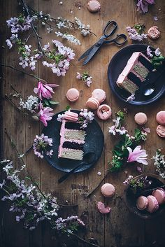 Neapolitan cake by Call me cupcake, via Flickr