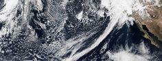 Atmosphärischer Fluss von Hawaii nach Kalifornien sorgt für heftigen Regen
