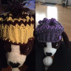 Módelið með húfu/r My model vith new hat/s #dogclothes #dogclothesforsale #doghat #model #hats #mywork #mypage #mysoul #mycrochet #beautifulcrochet #beautifulwork #beautifulsweaters #dogsweaters #dogsclothes by elannap #lacyandpaws