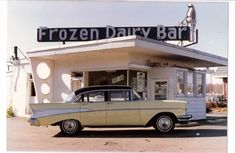 I hope I keep finding these yummy pics of the Frozen Dairy Bar not far from where my wife lived for many years up until the time we were married