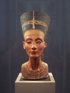 Nefertiti. Museo Egipcio. Berlin (2008)