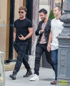 Puerto Rican superstar Ricky Martin and his Syrian lover Jwan Yosef