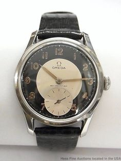 Antique Watches, Vintage Omega, Omega Watch, Vintage Antiques, Jewelry Watches, Accessories, Black, Vintage Watches, Old Clocks