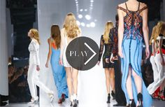 Discover NOWFASHION, the first real time fashion photography magazine to publish exclusive live fashion shows. Get to see the latest fashion runways in streaming! Live Fashion, Paris Fashion, Runway Fashion, Latest Fashion, Fashion Show, Spring Summer 2016, Versace, Fashion Photography, Trends