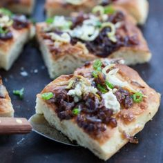 Onion Gorgonzola Focaccia Recipe « Go Bold with Butter