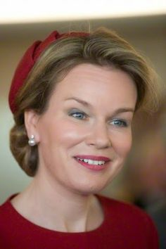 Official visit of Queen Mathilde to Strasbourg. 21/04/2015