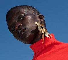 amen69fashion: Achok Majak photographed by Sergiy Barchuk and styled by Priscilla Kwateng for The Guardian fw2015