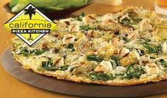 FREE California Pizza Kitchen Small Plate +  $5 Coupon