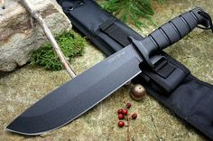 ONTARIO GEN II SP49 BOWIE FIXED BLADE KNIFE