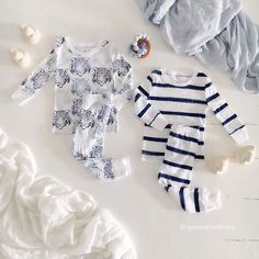 NEW Jammie Sets for cozy winter weekends!  spearmintLOVE.com