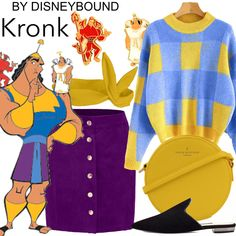 Welcome to the OFFICIAL website! DisneyBound is meant to be inspiration for you to pull together your own outfits which work for your body and wallet whether from your closet or local mall. As to Disney artwork/properties: ©Disney Disney Bound Outfits, Disney Dresses, Cute Disney, Disney Style, Cheshire Cat Costume, Disney Inspired Fashion, Disney Fashion, Estilo Disney, Emperors New Groove