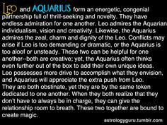 The Astrology Guru - Aquarius compatibility with Leo Leo And Aquarius Compatibility, Aquarius Traits, Leo Traits, Aquarius Woman, Age Of Aquarius, Aquarius Zodiac, Pisces Moon, Aquarius Quotes, Aquarius Relationship