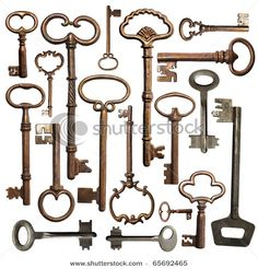 so many keys...
