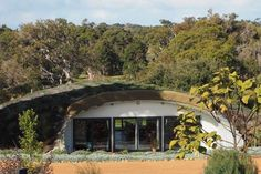 Sustainable hobbit home maintains consistent temperature all year around