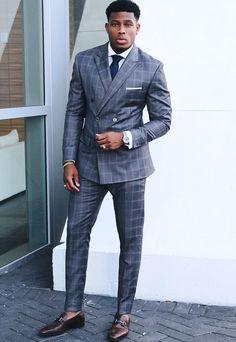men's suits near me Diy Outfits, Outfits Casual, Grunge Outfits, Fashion Guys, Mens Fashion Suits, Mens Suits, Fashion Vest, Mode Masculine, Grey Suit Men