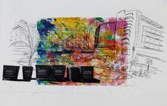 Technicolour Paradise | DegreeArt.com The Original Online Art Gallery