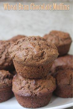 YUMMY TUMMY: Chocolate Wheat Bran Muffins Recipe