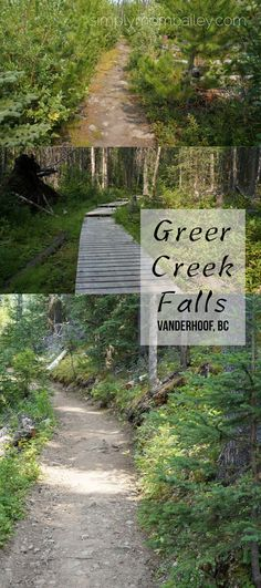 Greer Creek Falls is located south of Vanderhoof. You head out towards Kenny Dam and turn left on Kluskus Forest Service Ro Backpacking Canada, Canada Travel, Canada Holiday, Visit Canada, Forest Service, Where To Go, Places To Visit, Sidewalk