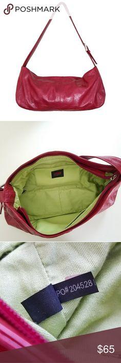 ❤❤Authentic HOBO Internatinal Bag❤❤ Beautiful red Authentic HOBO, like new HOBO Bags Shoulder Bags