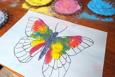 Malowanie solą - Moje Dzieci Kreatywnie