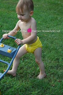 Imagine every baby in cloth diapers!