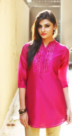 #fabulous #pink #kurta , to meet your #festive needs.
