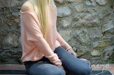 "#SS14 - frauen - cashmere pullover ""asymmetric"" summer edition - rose. #lightandsoft #asymmetric #cashmere #summeredition #neyomadeinnepal"