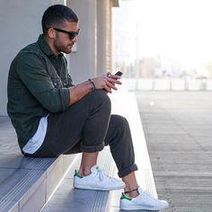 Kosta W. [Shirt : Zara Man Pants : H&M  Shoes : Adidas]