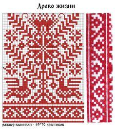 древо жизни:русская народная вышивка