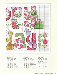 Cross-stitch Happy Holidays, part with the color chart.ru / Фото - Cross-Stitch and Needlework - tymannost Xmas Cross Stitch, Cross Stitch Needles, Cross Stitch Alphabet, Cross Stitch Charts, Cross Stitch Designs, Cross Stitching, Cross Stitch Embroidery, Embroidery Patterns, Cross Stitch Patterns
