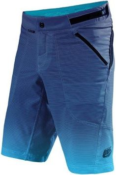 "Troy Lee Designs Men's Skyline Dissolve Bike Shorts 12.5"" Inseam Blue 36"