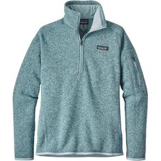 Better Sweater 1/4 Zip Tubular Blue w/Crevasse Blue