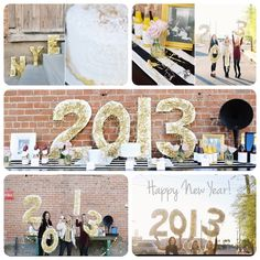 New Years Eve Party Sign      KristiMurphy.com   DIY Ideas