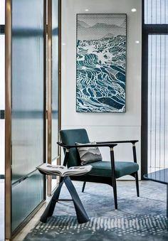 Modern Contemporary, Modern Classic, Modern Design, Sofa Furniture, Furniture Design, Chinese Interior, Single Chair, Office Interiors, Interior Design Inspiration