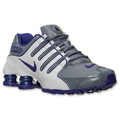 The Women\u0026#39;s Nike Shox NZ EU Running Shoes - 488312 015 - Shop Finish Line today! Cool Grey/Light Purple/Light Base Grey \u0026amp; more colors.