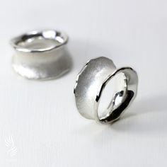 莫內純銀戒指