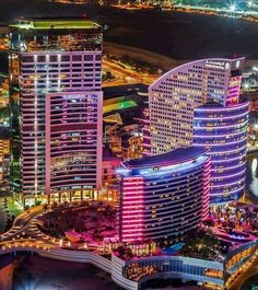 Dubai would be cool to see.