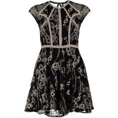 Free People LAUREL Cocktail dress / Party dress black